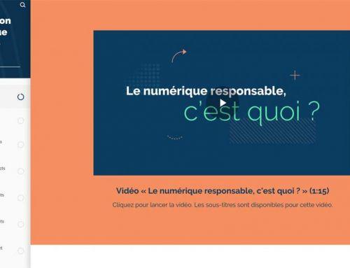 Le MOOC Numérique Responsable